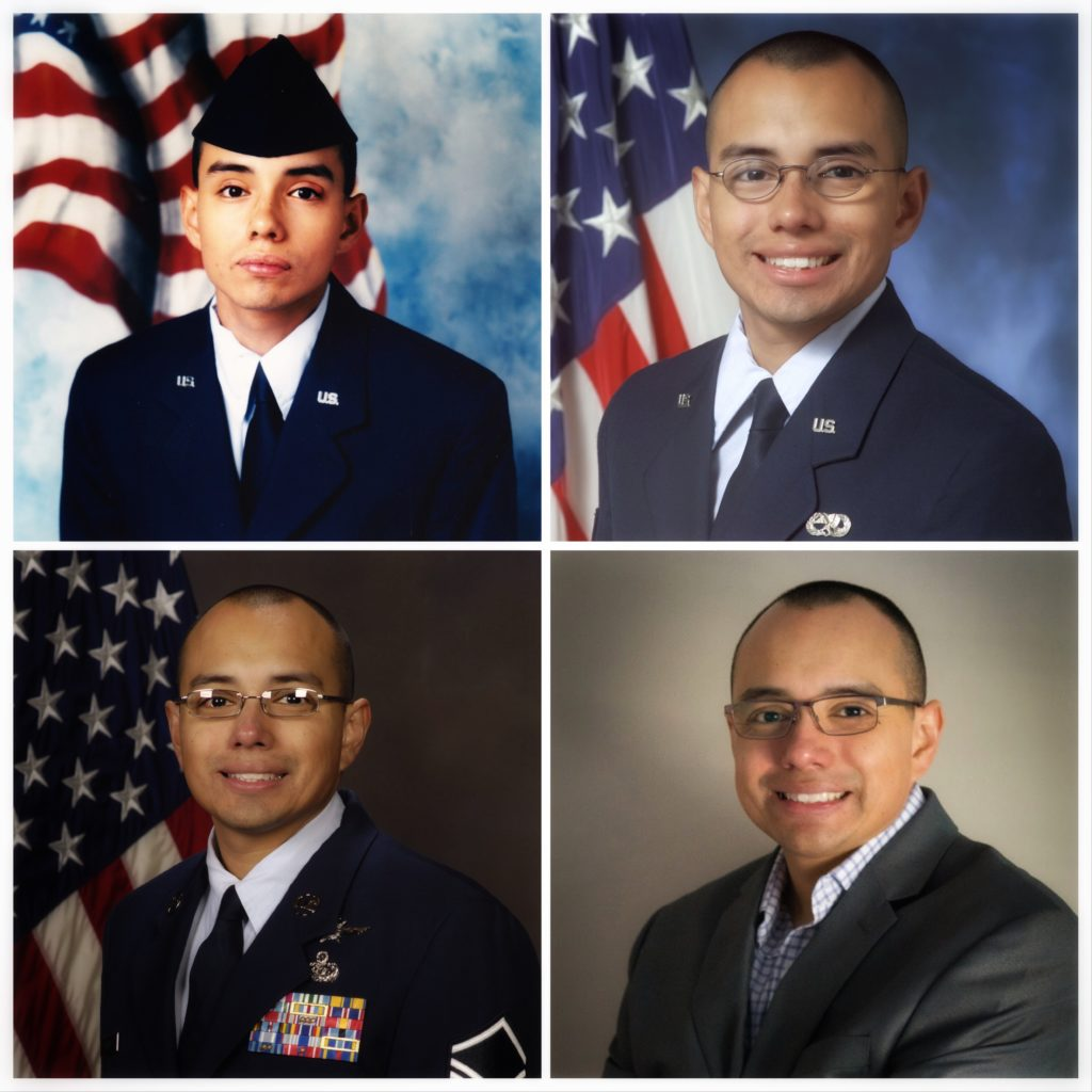 4 Pics of Carlos from his military career.